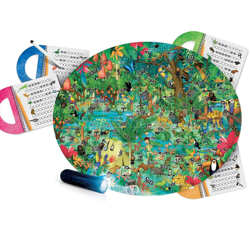 HEADU Explore The Forest Magic Light Kids Children Educational Jigsaw Puzzle